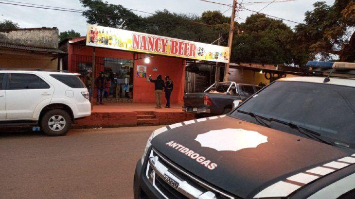 La bodega allanada por la Senad está ubicada en las calles Eliza Linch entre Brasil y Fernando de la Mora