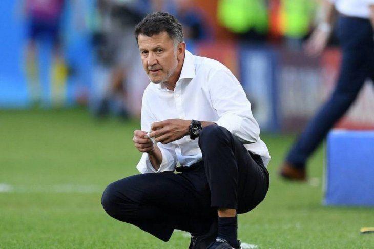 El entrenador colombiano Juan Carlos Osorio