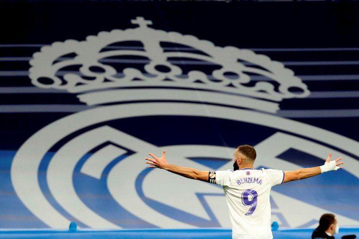 Real Madrid se lució frente al Mallorca.