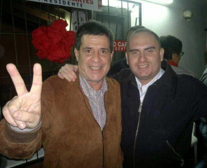 La firma Biggie Express informó que prohíbe el ingreso de Silver Luis Gómez Molinas (derecha) a cualquiera de sus 123 tiendas