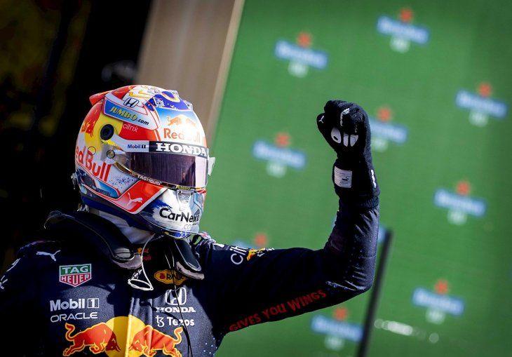 Verstappen saldrá primero este domingo.