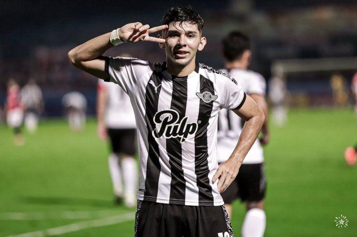 Carta de gol. Julio Enciso