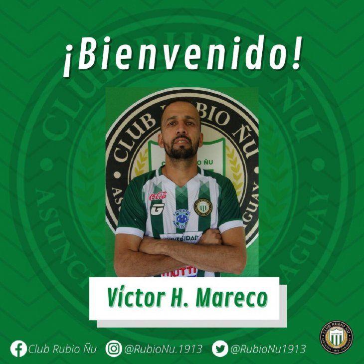 Mareco es una de las caras nuevas de Rubio Ñu en la Intermedia.