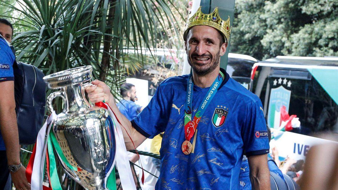 El capitán de Italia