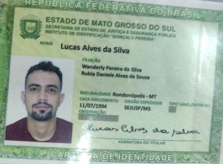 El fallecido fue identificado como Lucas Alves da Silva