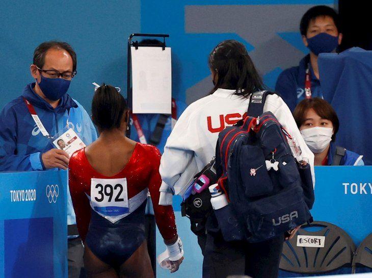 Biles es una de las grandes estrellas del deporte en Tokio 2020.