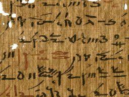 El análisis de 12 antiguos fragmentos de papiros del periodo  romano ha desvelado que los egipcios utilizaban plomo en la tinta de sus  textos pero no como pigmento, sino por sus propiedades secantes.