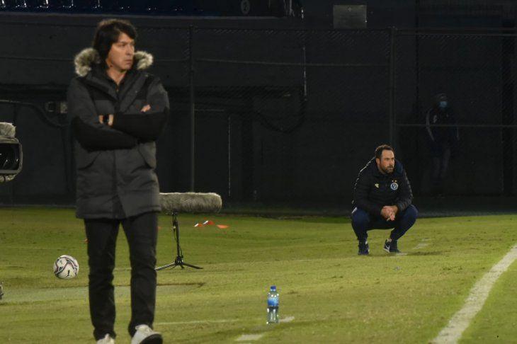 Daniel Garnero y Juan Pablo Pumpido