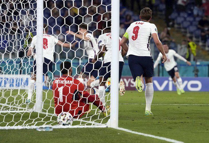 Inglaterra va por el pase a la final de la Eurocopa.
