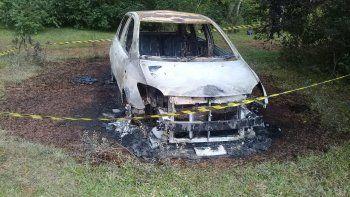 Los investigadores no descartan que este vehículo haya sido utilizado para cometer el hecho punible de asalto a mano armada ocurrido en la madrugada de este jueves en la localidad de General Delgado.