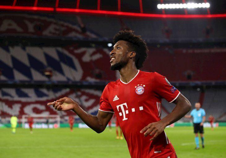 El Bayern goleó al Atlético de Madrid.