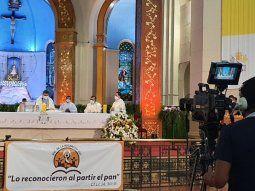 El obispo de Caacupé, Ricardo Valenzuela, mencionó en su carta que no hay paz en los hogares de los secuestrados Edelio Morínigo, Félix Urbieta y Óscar Denis.