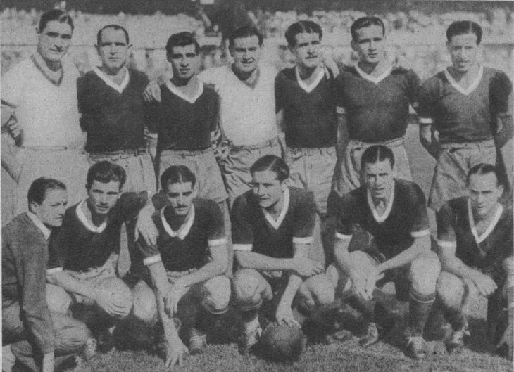 Jugadores de Independiente del año 1940.