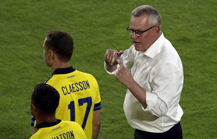 Suecia quiere la victoria ante Eslovaquia.