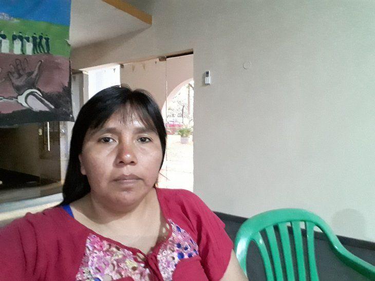 La lideresa Qom Bernarda Pessoa denunció este sábado que recibió amenazas de muerte y responsabilizó a otros indígenas varones que alquilan las tierras comunitarias.