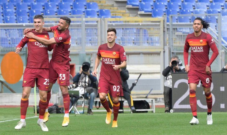 La Roma logró un triunfo importante este domingo.