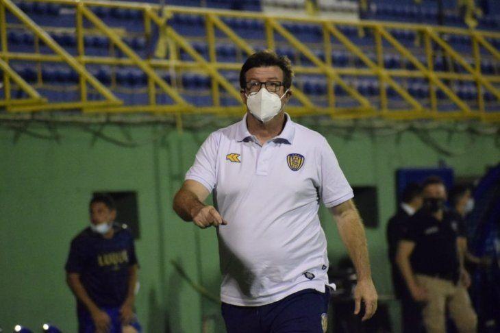 Berti dejó el equipo de Luqueño.