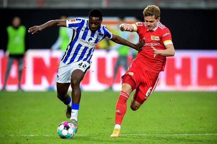 Hertha e Unión Berlin empataron por la Bundesliga de Alemania.