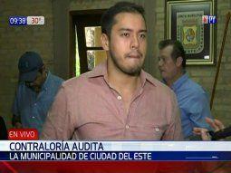 El presidente de la Junta Municipal de Ciudad del Este, Miguel Prieto, está convencido de que Diputados aprobará el pedido de intervención a la gestión de Sandra McLeod.