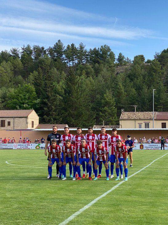 Plantilla del Atlético de Madrid.