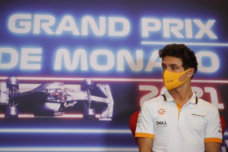 Lando Norris se mostró muy contento por renovar su relación con McLaren.