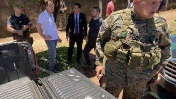 El 6 de diciembre del 2019, los agentes del GEO hallaron supuestamente en el fondo de la carrocería del vehículo de Bazán Borchardt un paquete que contenía 170 gramos de cocaína.