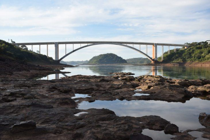 Alerta. Preocupa a las autoridades navales el actual cauce del Paraná