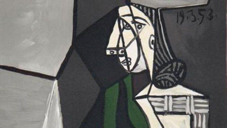 El retrato pintado por Pablo Picasso de Françoise Gilot