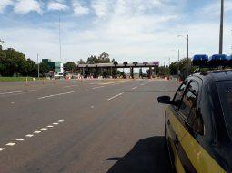 La Patrulla Caminera informó que el operativo retorno fue fluido y que decidieron utilizar carriles del sentido contrario en determinadas zonas para evitar congestiones.