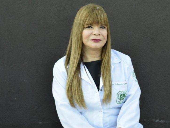 La doctora Yolanda González Barrios