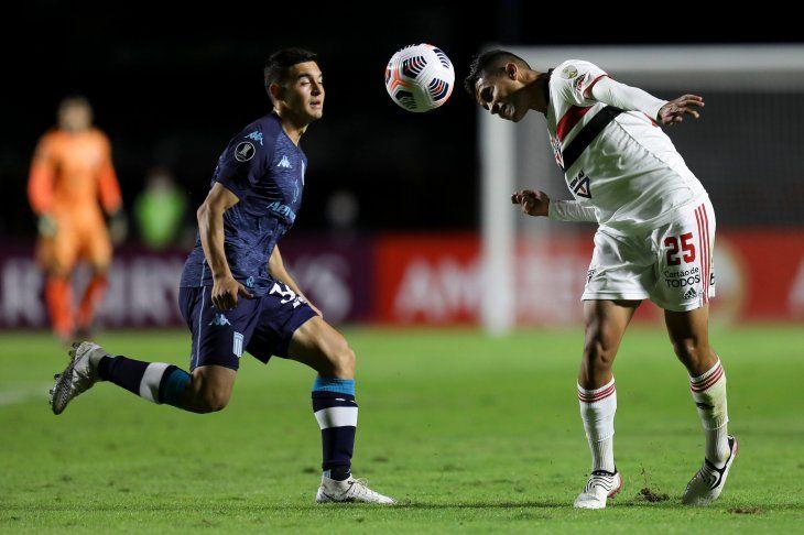 Sao Paulo recibe a Racing por Copa Libertadores.