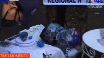 Agentes del Departamento Antinarcóticos de la Policía Nacional allanaron a tempranas horas de este viernes una vivienda ubicada en la zona de Reducto, en la ciudad de San Lorenzo, en donde incautaron una importante cantidad de dosis de crac, dinero en efetivo y marihuana.