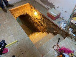 Según los intervinientes, el hombre pretendía construir un  laboratorio dentro de un sótano y acondicionarlo para la producción  clandestina de la droga.