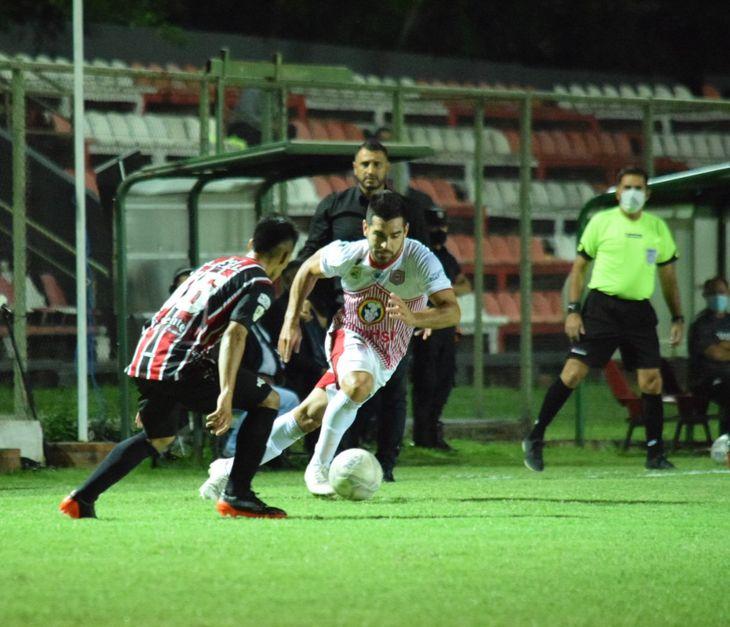 San Lorenzo empató contra Tacuary.