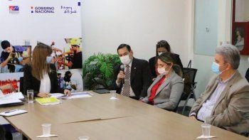 La ministra de Trabajo, Carla Bacigalupo, se reunió con los representantes de las cajas de jubilaciones ante la preocupación por el fallo de la Corte Suprema de Justicia.