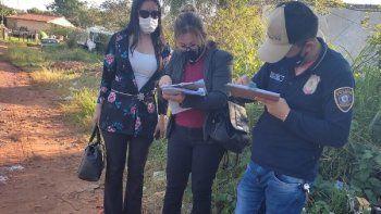 Ariel Villalba Brizuela, de 29 años, sospechoso del feminicidio de su pareja Marilina Monzón, de 24 años, fue detenido en el barrio Salado, del asentamiento Carmen Soler, de la ciudad de Limpio.